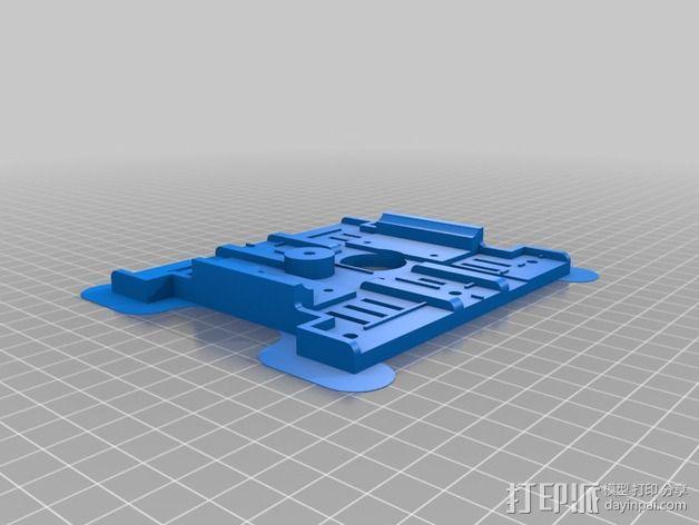 PRN3D打印机Y轴的部件 3D模型  图2