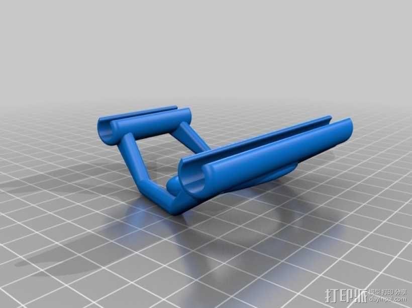 线材导轨 导线器 3D模型  图2