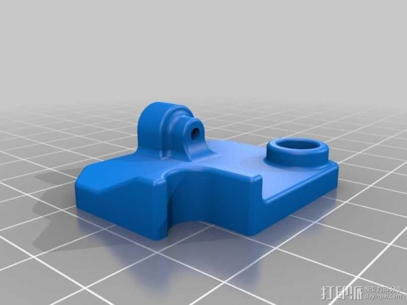 挤出机的送料器 3D模型  图1