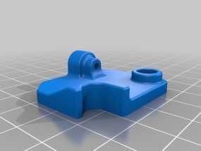 挤出机的送料器 3D模型