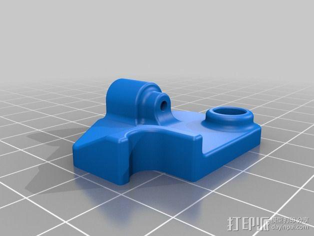 挤出机的送料器 3D模型  图2
