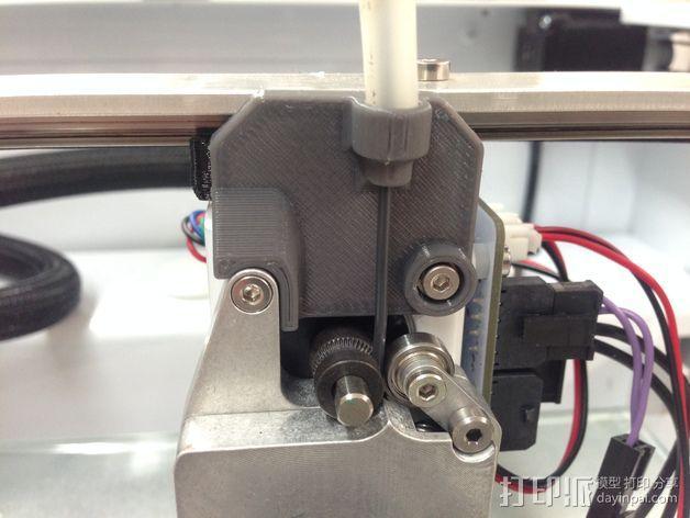 挤出机的送料器 3D模型  图3