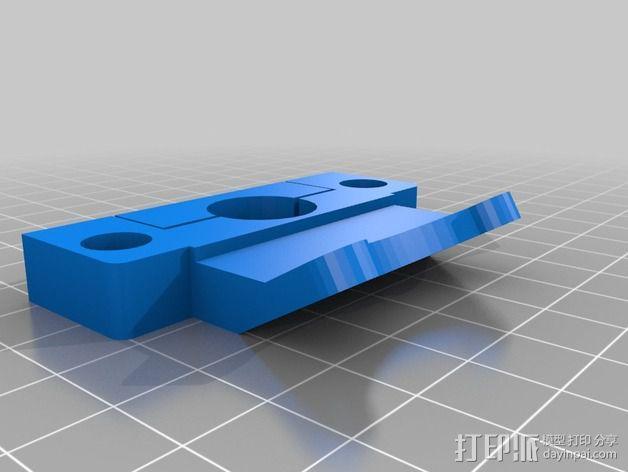 通用式的喷头支架 3D模型  图1