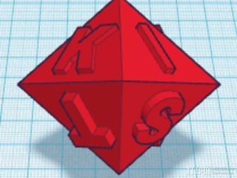 金士顿多面体 3D模型  图3