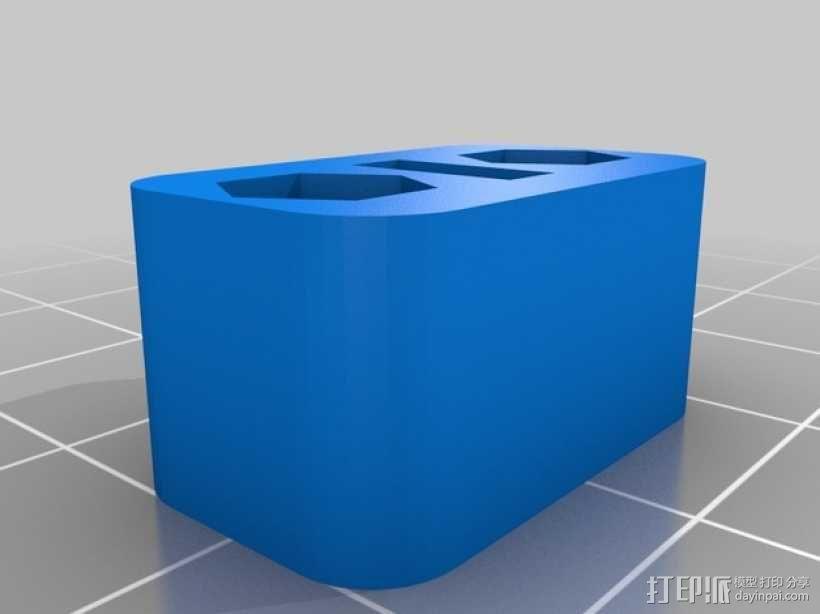 皮带固定器 皮带张紧器 3D模型  图2