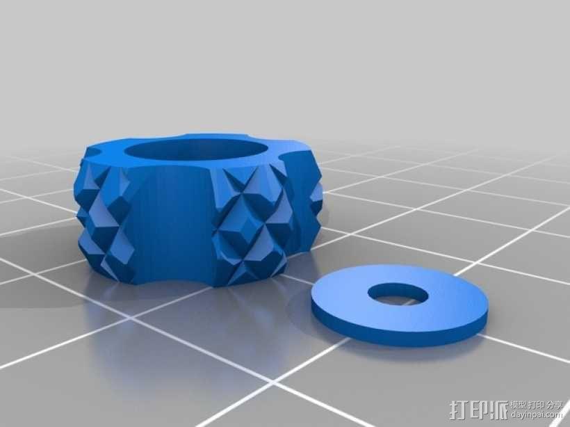 调节旋钮 控制旋钮 3D模型  图1