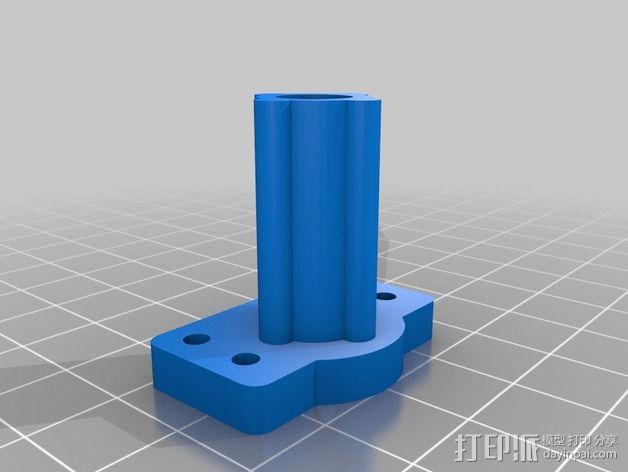 Robo3D打印机Z轴的稳定器 3D模型  图1