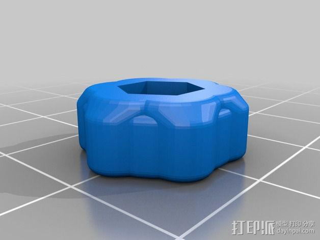 K8200打印机Z轴的开关 3D模型  图2