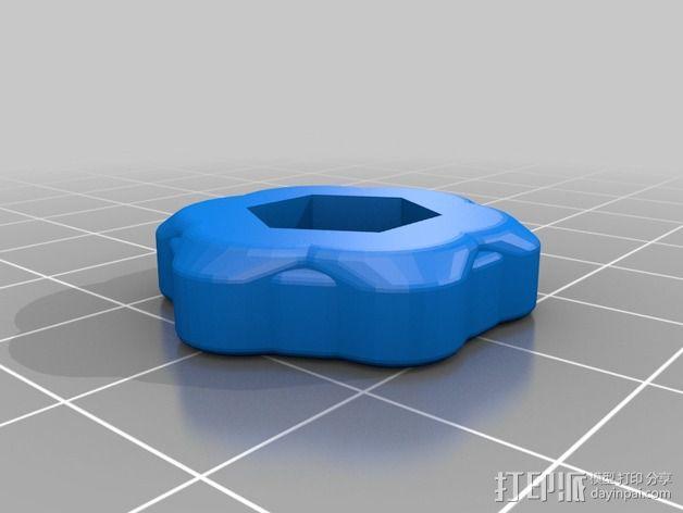 K8200打印机Z轴的开关 3D模型  图5