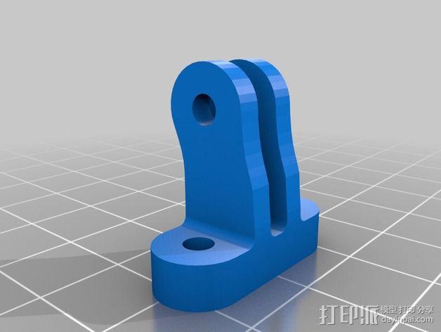 Prusa i3风扇支架 3D模型  图2