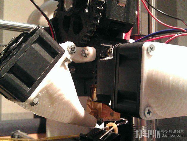 Prusa i3风扇支架 3D模型  图4