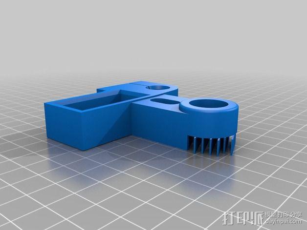 Ormerod 3D打印机Z轴 3D模型  图2