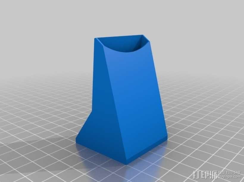 40毫米的风扇通风导管 3D模型  图5