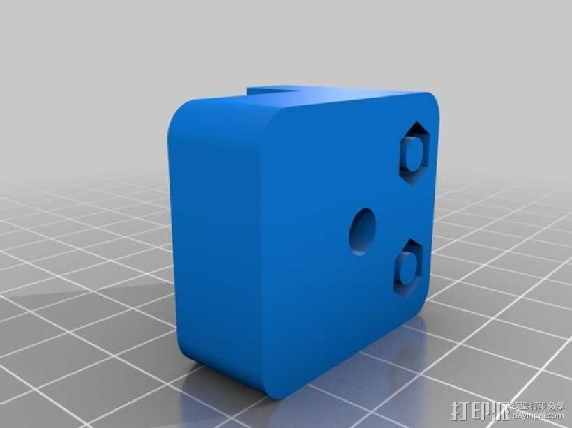 k8200打印机的皮带张紧器 3D模型  图3