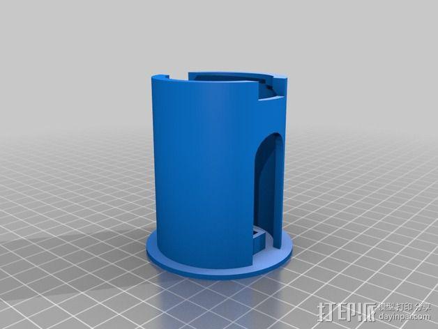 52毫米的线轴支架 3D模型  图5