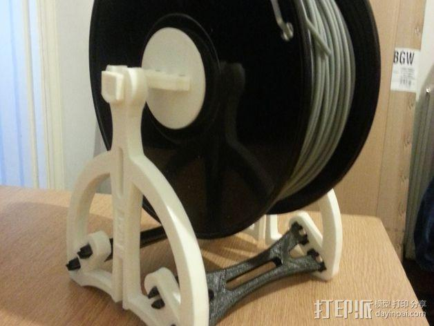 52毫米的线轴支架 3D模型  图6