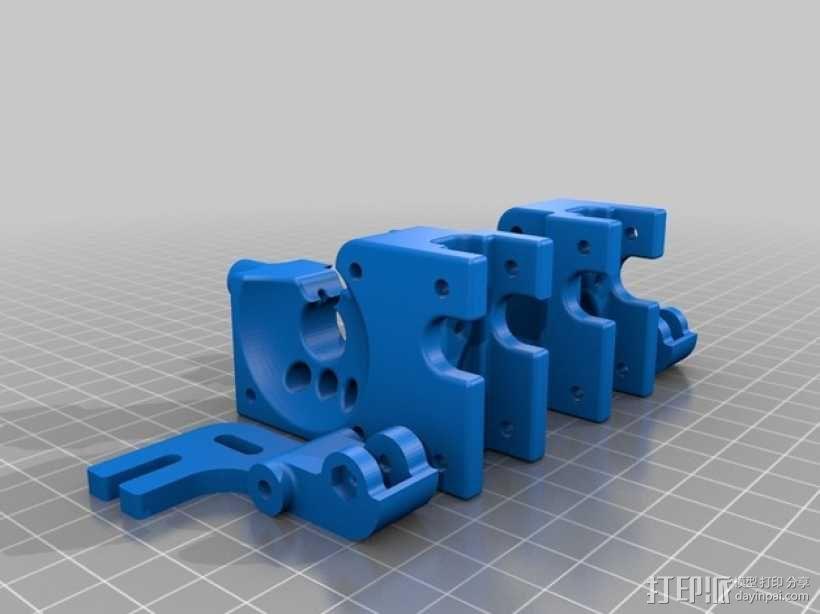 CTC replicator 双挤出机 3D模型  图2