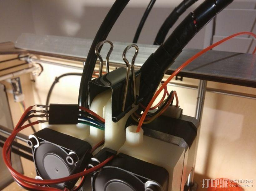CTC replicator 双挤出机 3D模型  图11