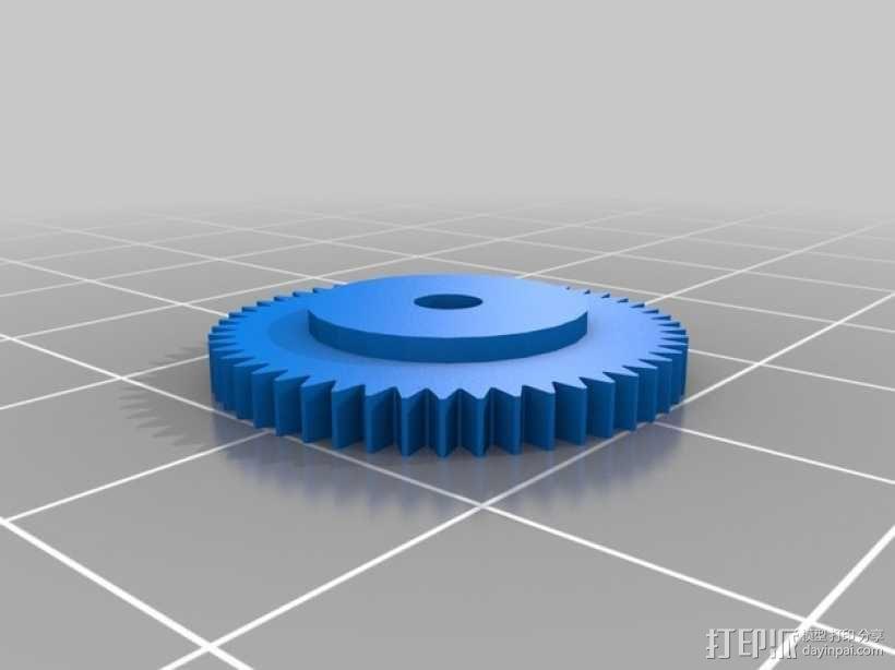 控制旋钮 3D模型  图1