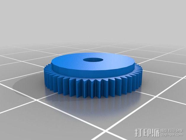 控制旋钮 3D模型  图2