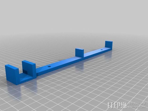 PSU 电源支架 3D模型  图1