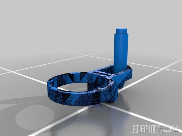 打印笔支架 3D模型  图2