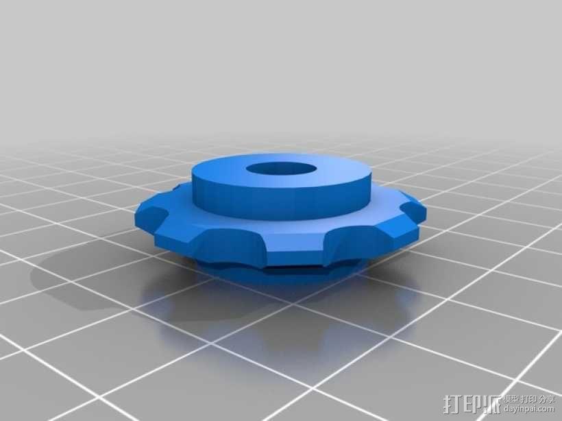 链轮齿 齿轮 3D模型  图1