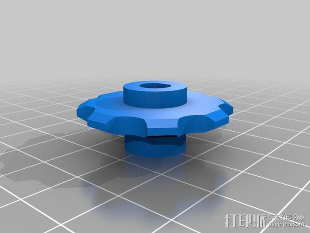 链轮齿 齿轮 3D模型  图2
