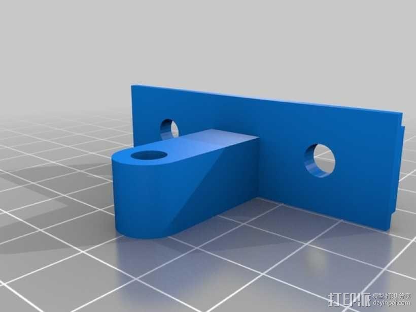 vellerman k8200 打印机的风扇支架 3D模型  图2