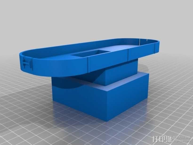 Da Vinci 打印机的风扇支架 3D模型  图1
