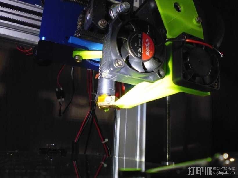 风扇通风导管 3D模型  图8
