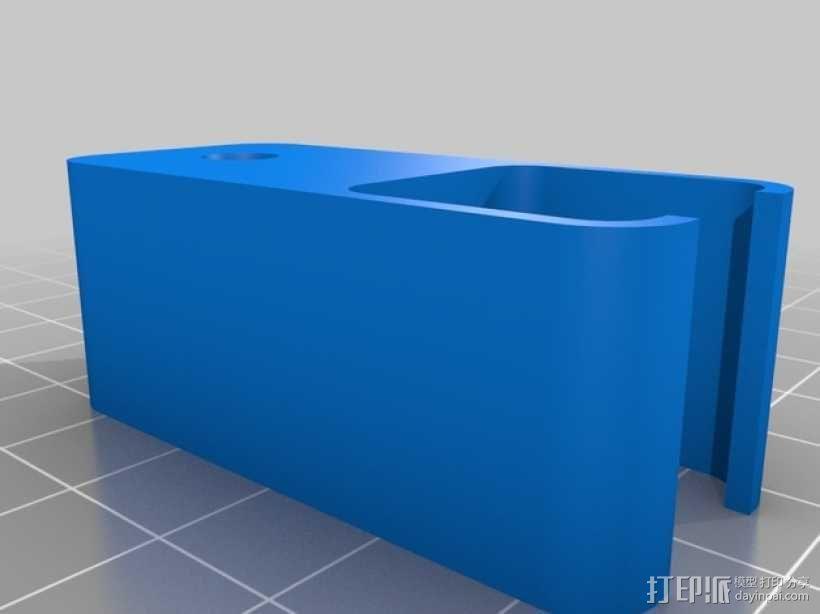 RigidBot打印机的导线器 3D模型  图1