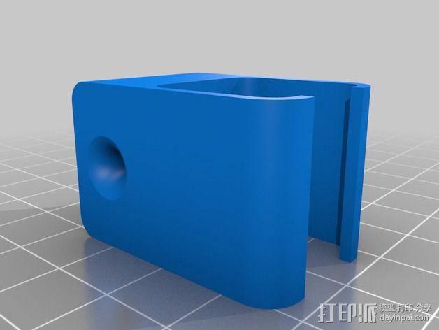 RigidBot打印机的导线器 3D模型  图2