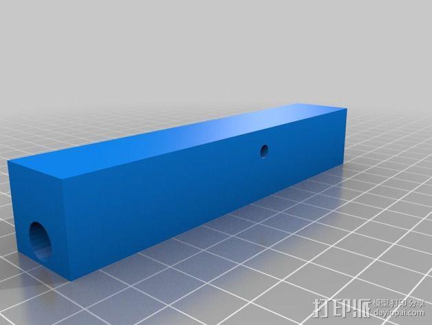 Makerbot Replicator打印机的边框支架 3D模型  图7