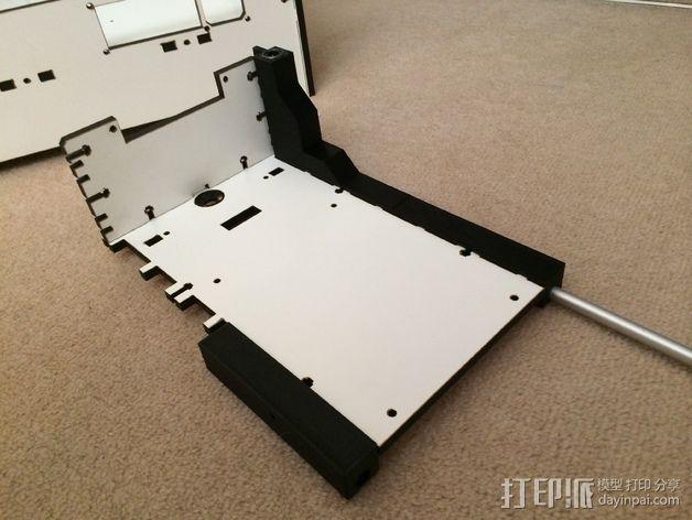 Makerbot Replicator打印机的边框支架 3D模型  图8