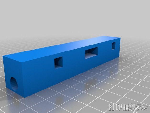 Makerbot Replicator打印机的边框支架 3D模型  图6
