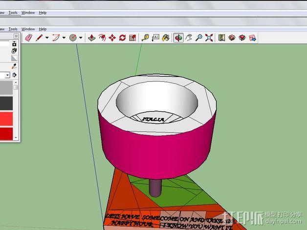 最好的红酒杯 3D模型  图3