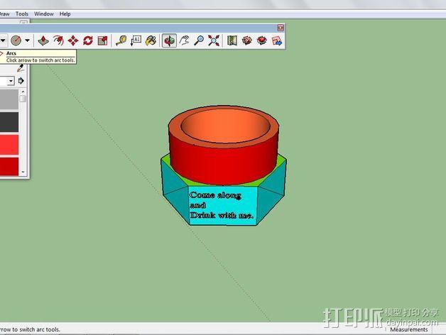 杯子 3D模型  图2