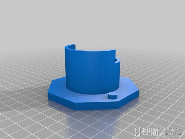 线轴适配器 3D模型  图4
