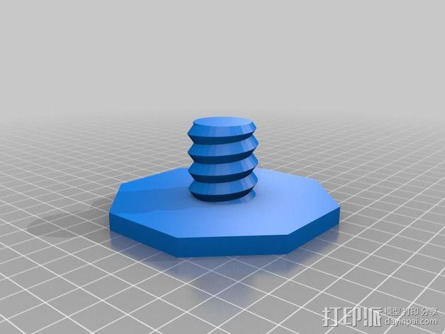 线轴适配器 3D模型  图2