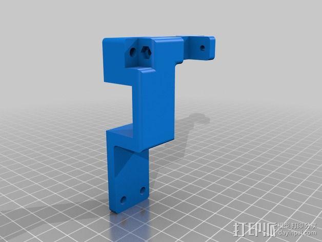 皮带惰轮 3D模型  图2