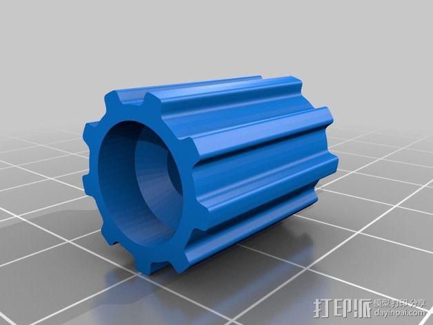 皮带惰轮 3D模型  图3