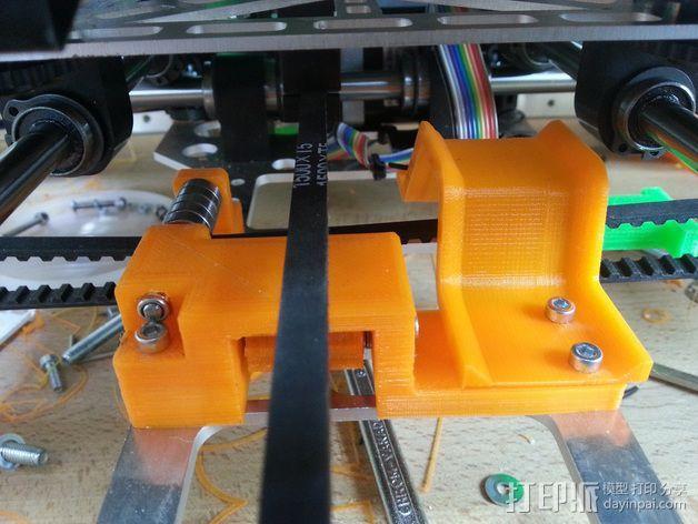 皮带惰轮 3D模型  图4