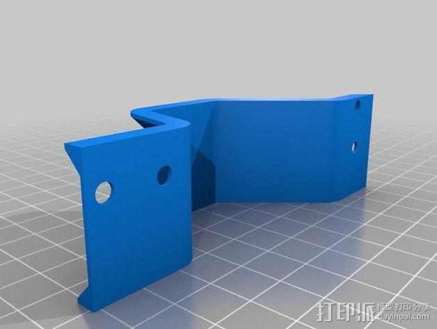 皮带惰轮 3D模型  图5