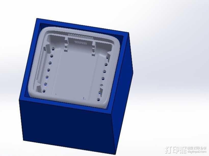 MicroView 外盒 3D模型  图1