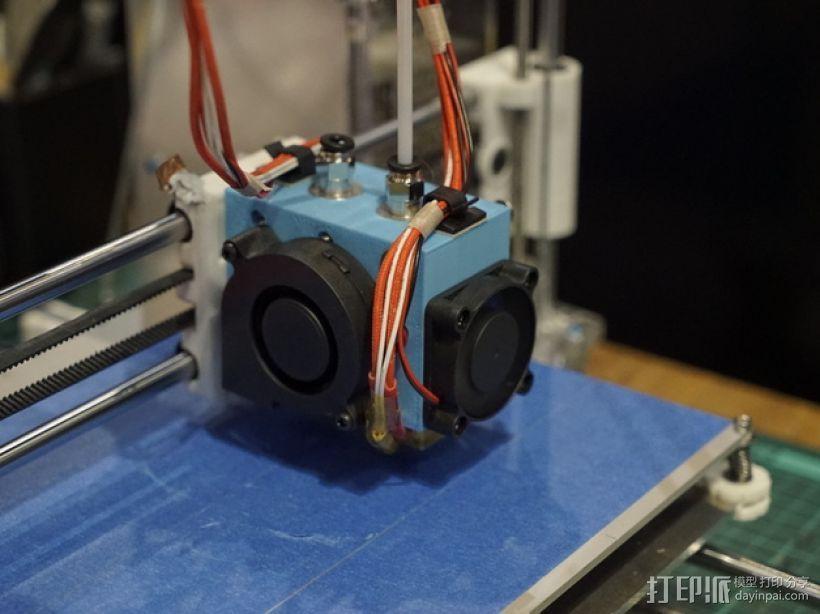 prusa i3打印机的喷头支架 3D模型  图4