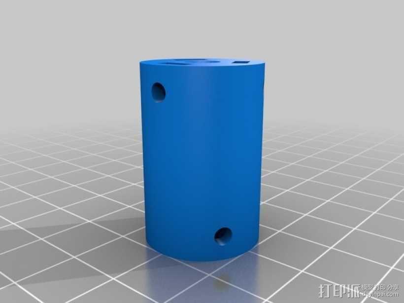 耦合器 3D模型  图3