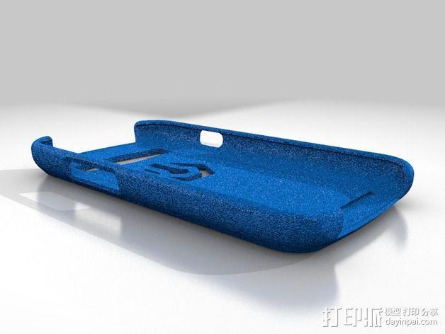 三星 S3手机外壳 3D模型  图1