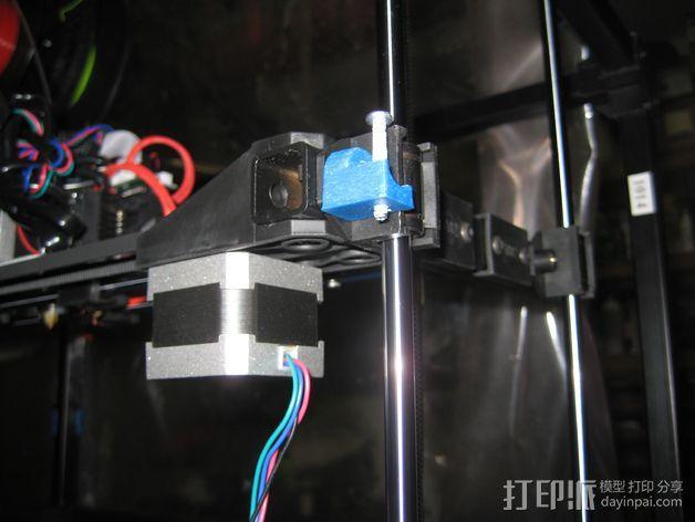 Z轴限位开关适配器 3D模型  图1