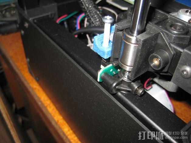 Z轴限位开关适配器 3D模型  图2